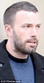 shaved head to hide graying hair age catches up fast with grey and balding ben affleck as