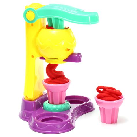 ice cream maker toys soft clay plasticine development gift
