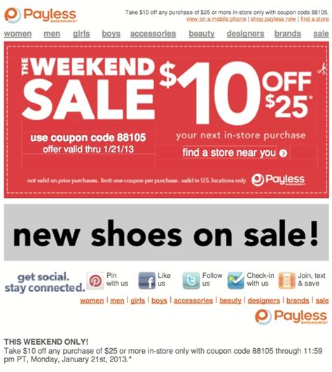 shoes coupon pin by m dingman king on coupons