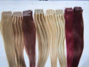 hair extensions colors remy human hair extensions colour chart weft hair
