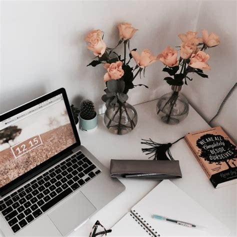 Desk Minimalist desk organization tumblr