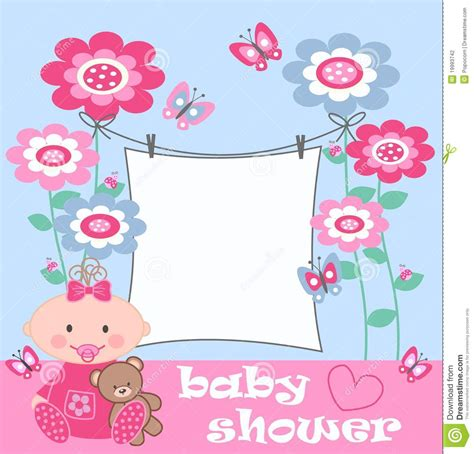 baby shower stock photography image 19993742