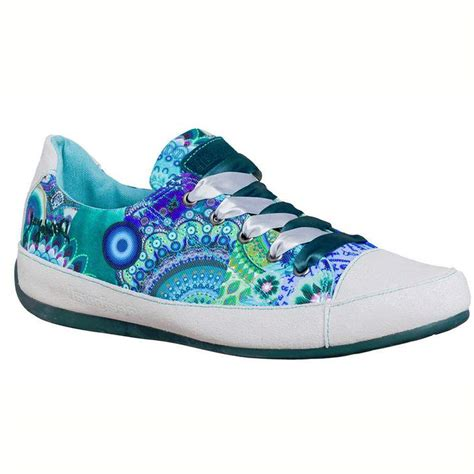 sandal sneakers desigual sneakers with summery print fashion shoes turmo