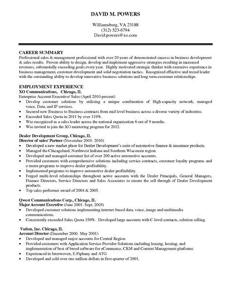 resume summary template valuable idea executive summary resume 9
