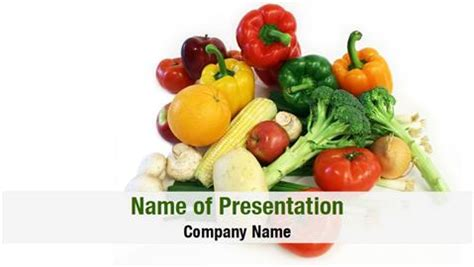powerpoint themes fruit and vegetables nutrition powerpoint templates powerpoint backgrounds