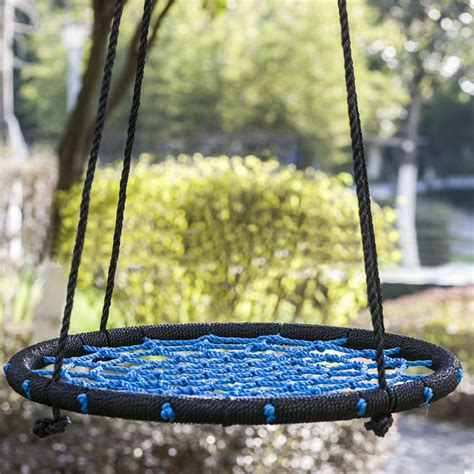 large round swing spider web tree swing 100cm diameter large round nest kids