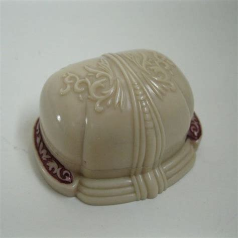 vintage 1930s wedding ring box clam shell nouveau