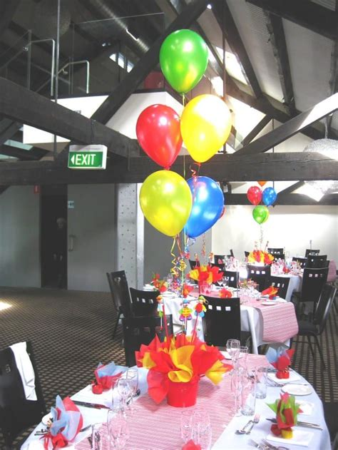 circus table centerpieces pictures carnival event