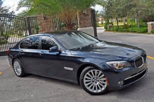 bmw 7 series 750li 2010 auto images and specification