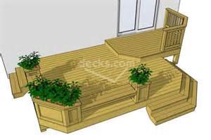 Patio Plans And Designs Decks Free Plans