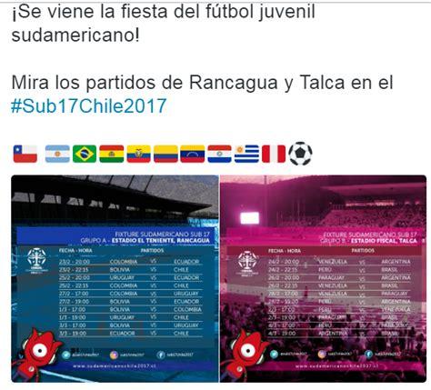 Calendario Mundial Sub 17 El Calendario De Partidos De La Selecci 243 N Peruana Sub 17