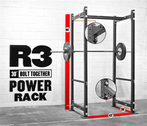 rogue bolt together r 3 power rack crossfit weight