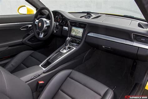 Porsche 991 Interior road test 2014 porsche 991 turbo turbo s review