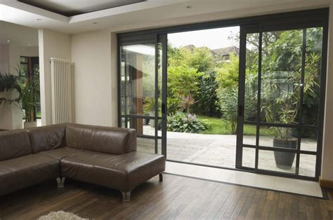 Awesome Sliding Glass Doors For A More Appealing Modern How To Decorate Sliding Glass Doors