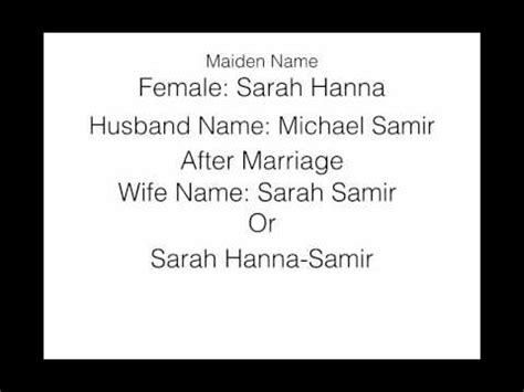 Search For By Maiden Names Maiden Name Meaning