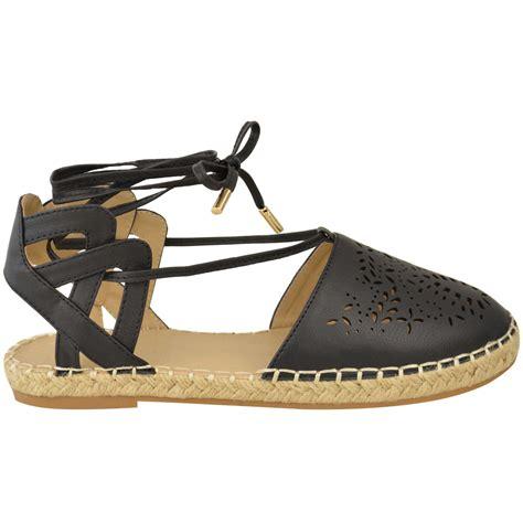 flat espadrille sandals flat lace up espadrille sandals womens ankle