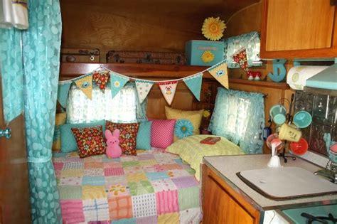 Vintage Camper Decorating Ideas 1966 Frolic Trailer My Hideout Pinterest Vintage