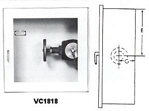 department valve cabinet larsen hose larsen valve cabinets b l wilcox