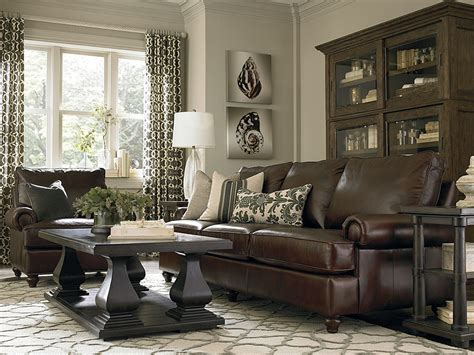 decorating with dark brown leather sofa dark brown couch with pillows google search great room