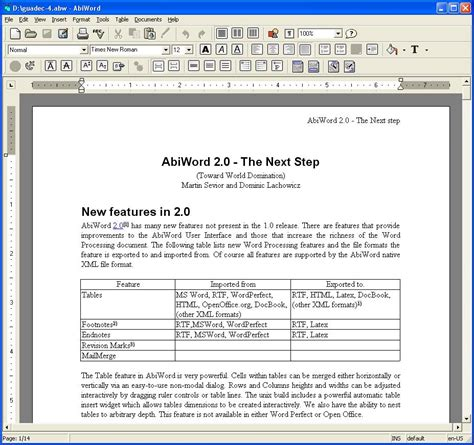 word processor templates best free word processor gizmo s freeware
