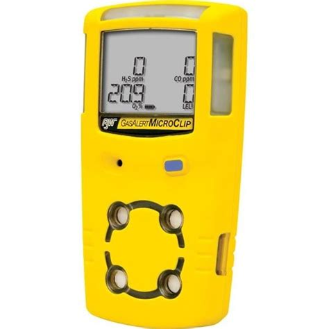 bw technologies gas alertmicroclip xt multi gas monitor