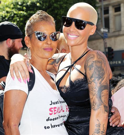 amber rose s mom takes swipe at kanye west during slutwalk