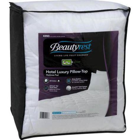 Beautyrest Hotel Luxury Pillow Top Mattress Pad beautyrest hotel luxury pillow top mattress pad walmart