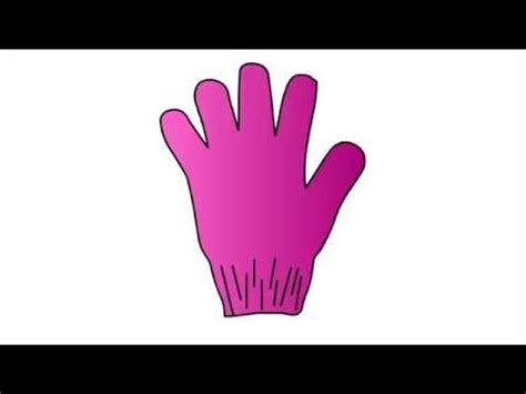 Drawing Glove by 308 How To Draw Glove For Step By Step Drawing