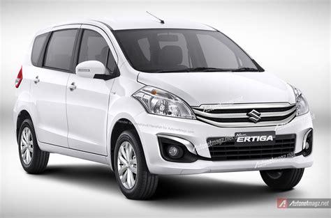 New Suzuki Ertiga Garnish Belakang Chrome Jsl Model Platinum suzuki ertiga facelift 2015 rendering based on spyshoot photos autonetmagz
