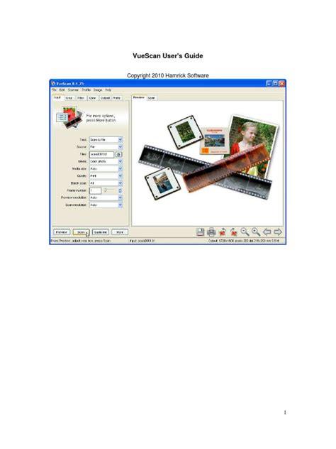vuescan workflow vuescan user guide dd 2011 08 18 image scanner color