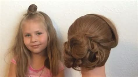 hair on 5 year olds but magnolia strebe 5 year old creates hair tutorials for