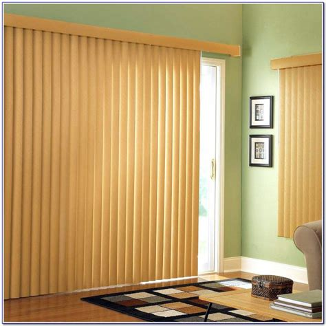 Sliding Patio Door Curtains Blinds Patios Home Patio Door Blinds Ideas