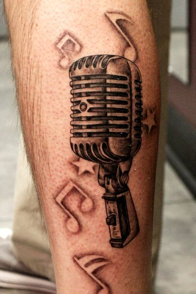 old fashioned microphone tattoo designs microphone tattoos designs ideas and meaning tattoos