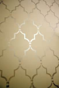 how to stencil with marrakech trellis allover cutting