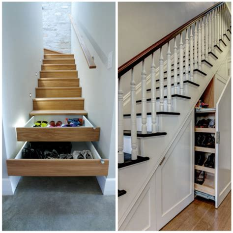 shoe storage stairs this or that stair shoe storage