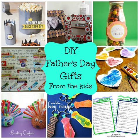 Diy Kids Presents For Dad Diy Father S Day Gifts From Children Ideas For Dads