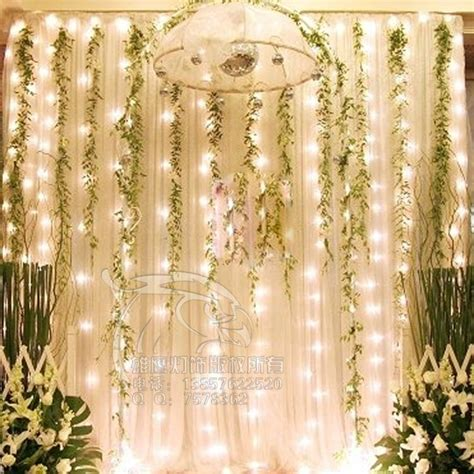 Wedding Decoration Curtains Wedding Decoration Lights Decoration
