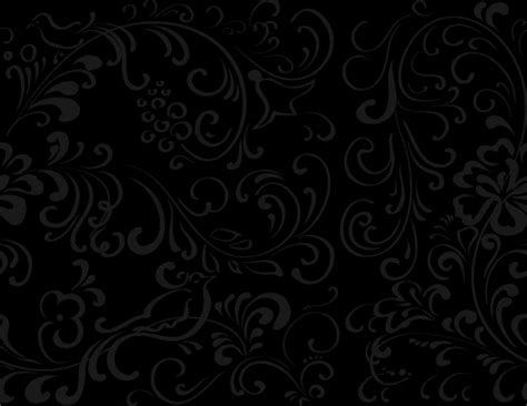 and black designs black background wallpaper with flowers wallpapersafari