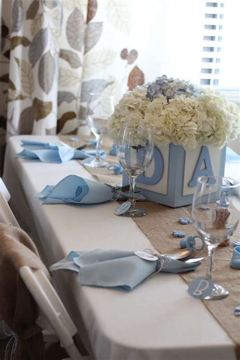 baby boy shower centerpiece shabby chic boy baby shower ideas photo 1 of 21 catch my
