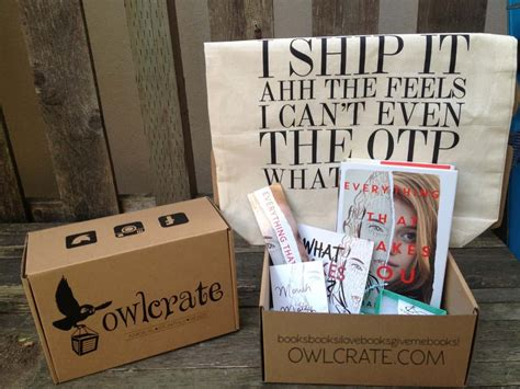 subscription box owlcrate find subscription boxes