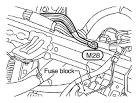 2001 nissan almera wiring diagram and electrical