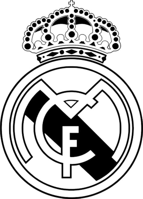free coloring pages of madrid cf logo