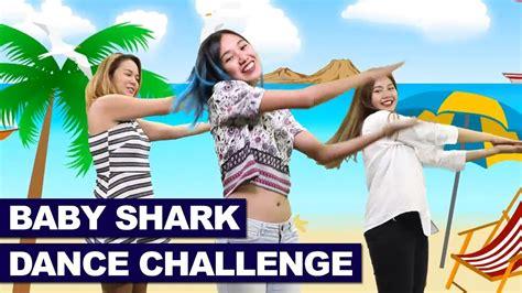 baby shark with dance baby shark dance challenge by power pak girls youtube