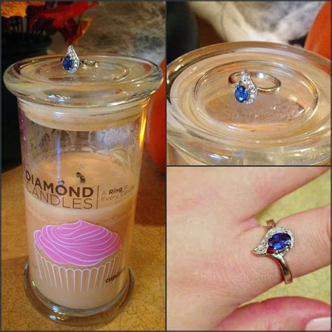 Candles With Rings Inside Them by Sparkle Me Pink Candle Ring Reveal