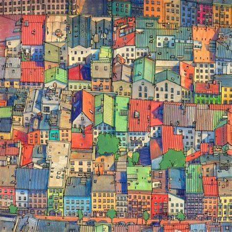 fantastic cities 48 page coloring book made for