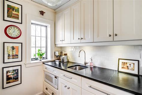 small subway tile in kitchen traditional with black white subway tile kitchen kitchen traditional with black