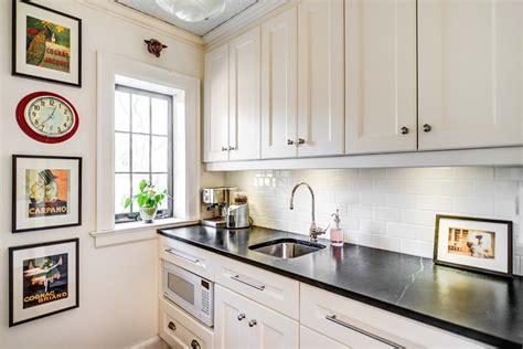 white kitchen subway tile white subway tile kitchen kitchen traditional with black
