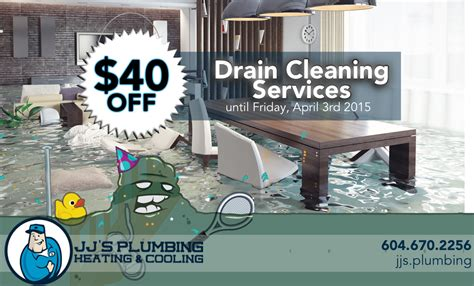 Jj Plumbing by Save On Drain Cleaning Services Jj S Plumbing Vancouver