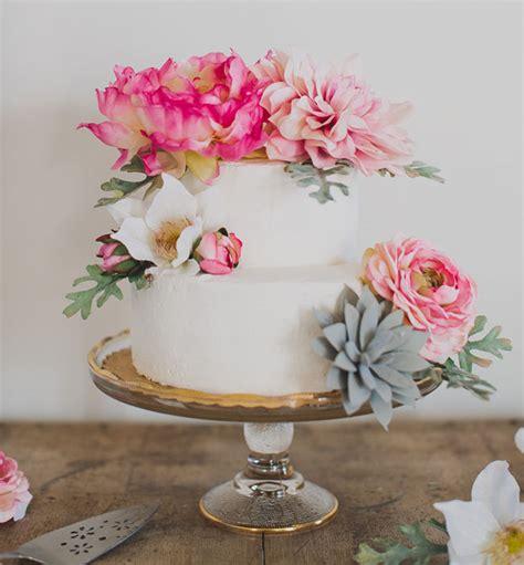 Diy Wedding Cake Flowers by Diy Boho Wedding Cake Green Wedding Shoes Weddings