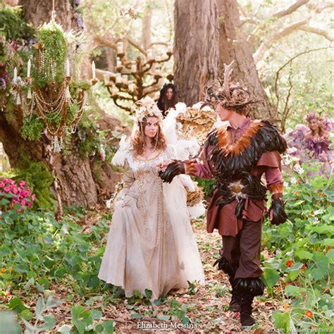 royal fairy  elf wedding theme wedding inspirasi